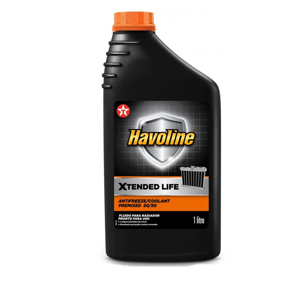 Aditivo Havoline Xtended Life Antifreeze Coolant 50/50 1lt