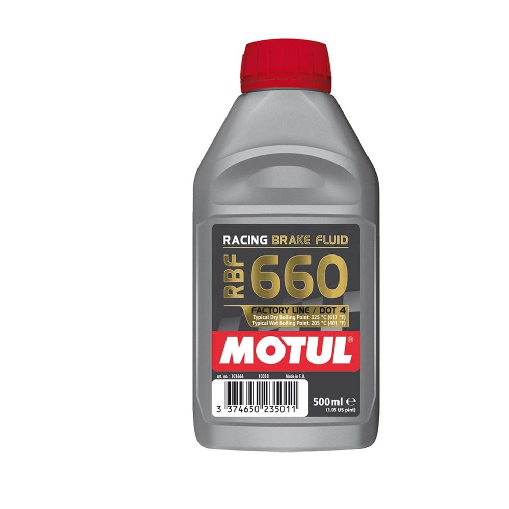 Fluído De Freio Motul Rbf 660 Racing Brake Fluid 500Ml