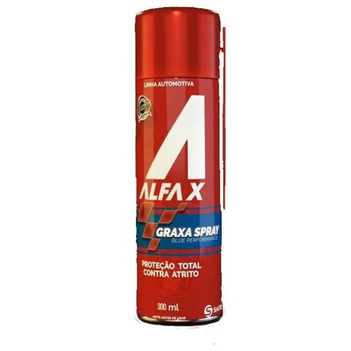 Graxa Alta Performance Alfa-x Ivory Ep2 Spray 300ml