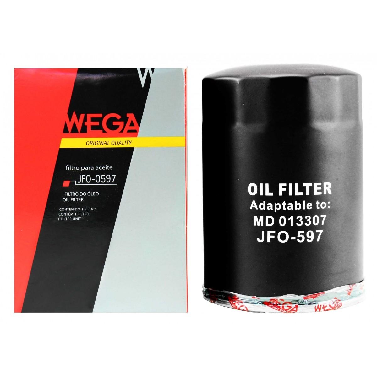 Filtro de oleo Wega JFO0597 / Tecfil PSL158 em até 6x sem juros