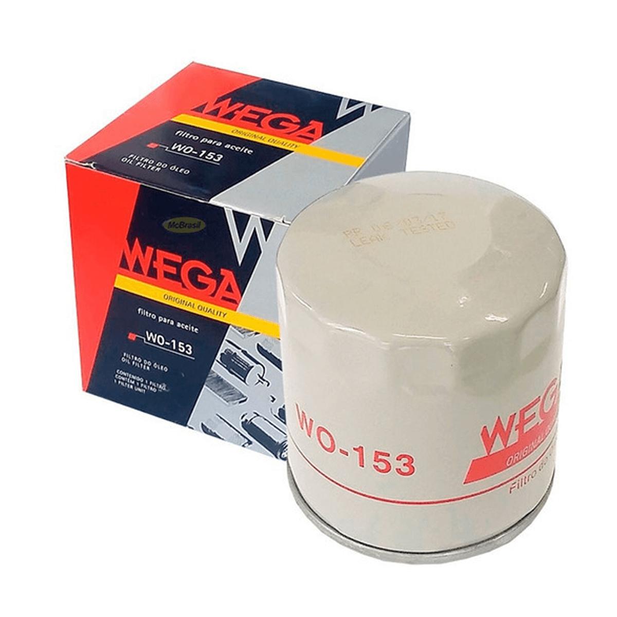 Filtro de Oleo Wega WO153 em até 6x sem juros