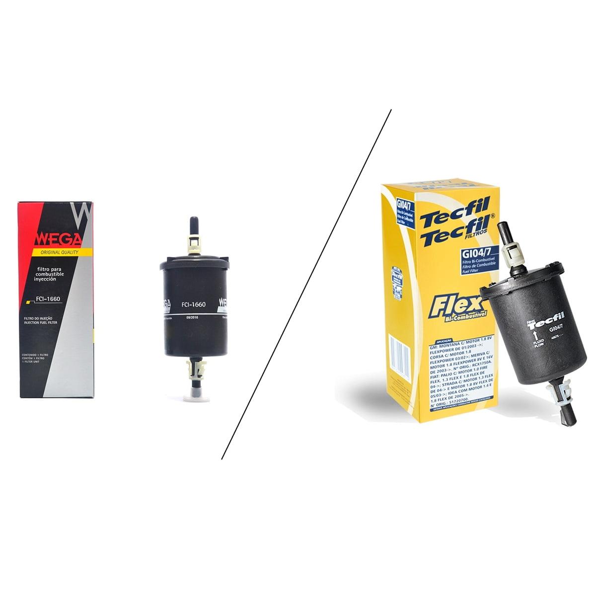 Filtro de combustível Wega FCI1660 / Tecfil GI04/7