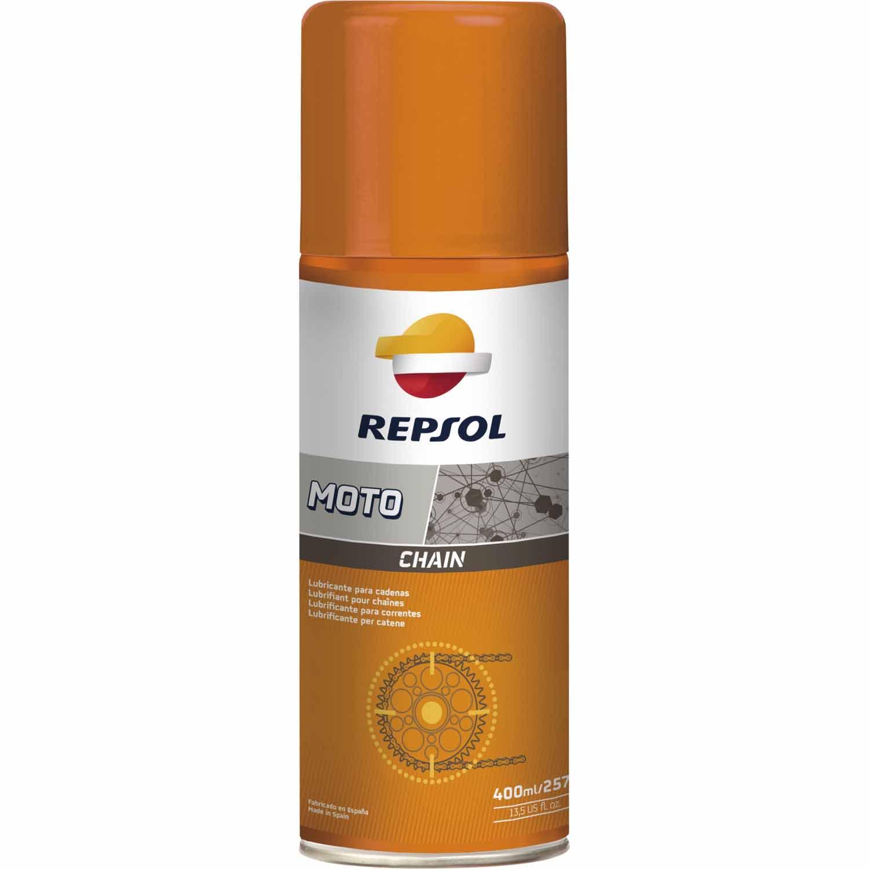 Chain Lube Lubrificante Corrente Repsol Spray 400ml em até 6x sem juros