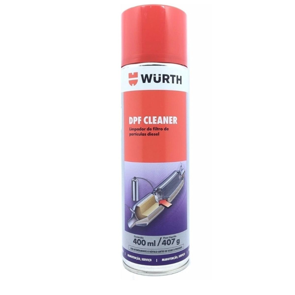 Limpador De Filtro de Partículas Diesel DPF Cleaner Wurth 400ml  em até 6x sem juros