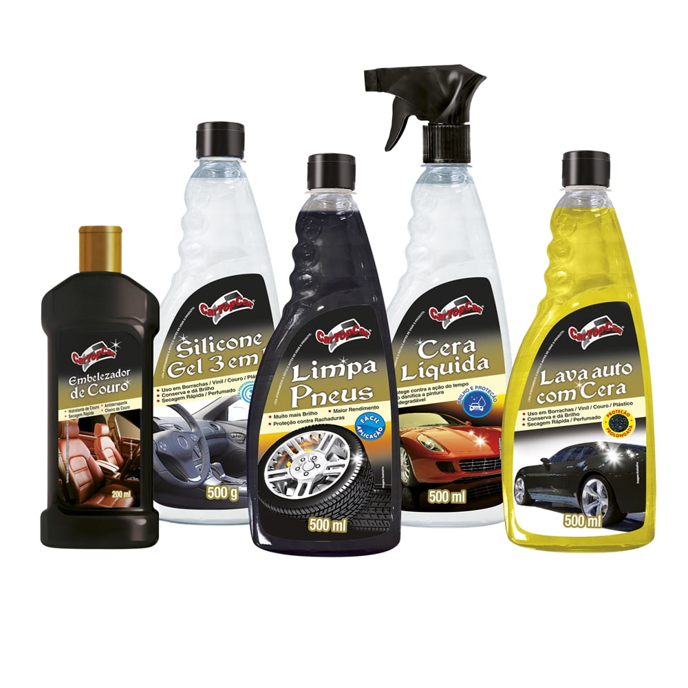 Limpeza Automotiva Kit Limpeza CarTopCar  em até 6x sem juros