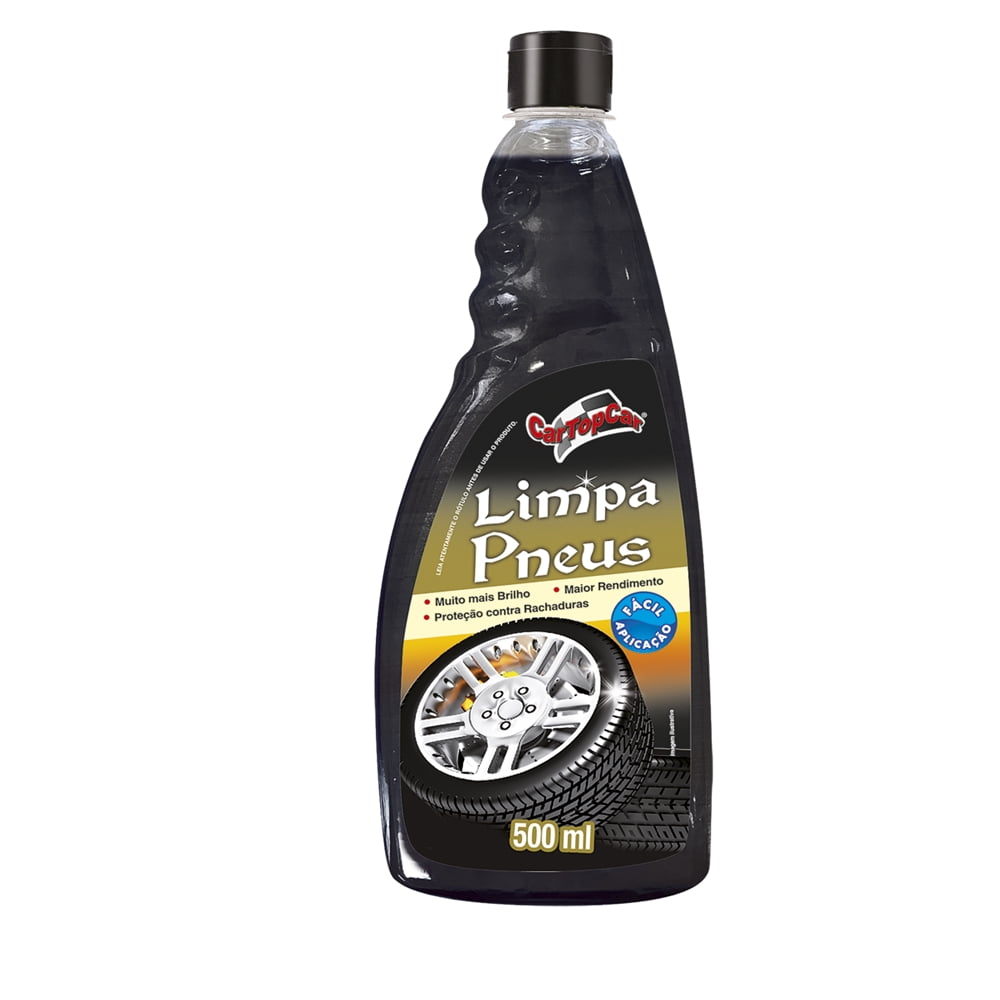 Limpeza Automotiva Limpa Pneus CarTopCar 500ML