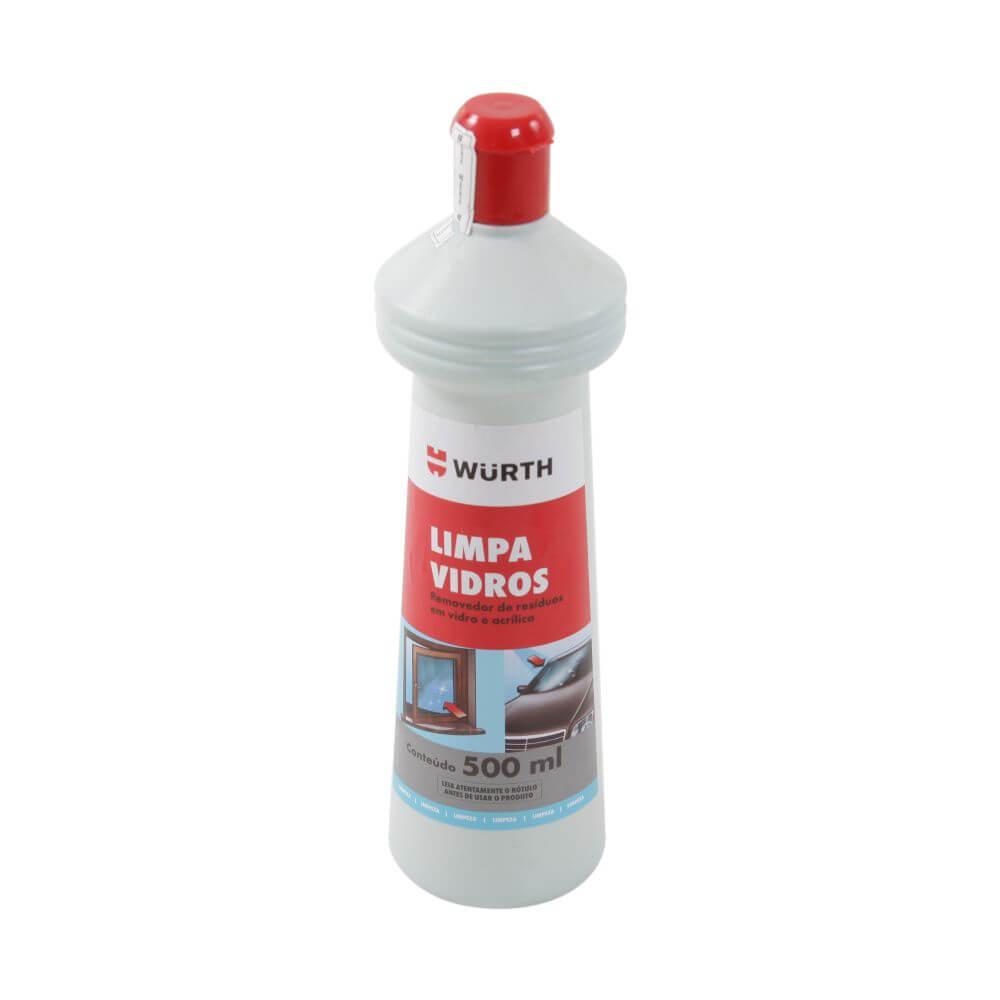 Limpeza Automotiva Limpa Vidros Wurth 500 ML em até 6x sem juros