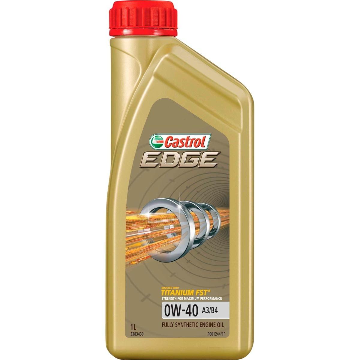 Oleo De Motor 0w40 Castrol Edge Sintético API SN Acea A3/B4 1lt em até 6x sem juros