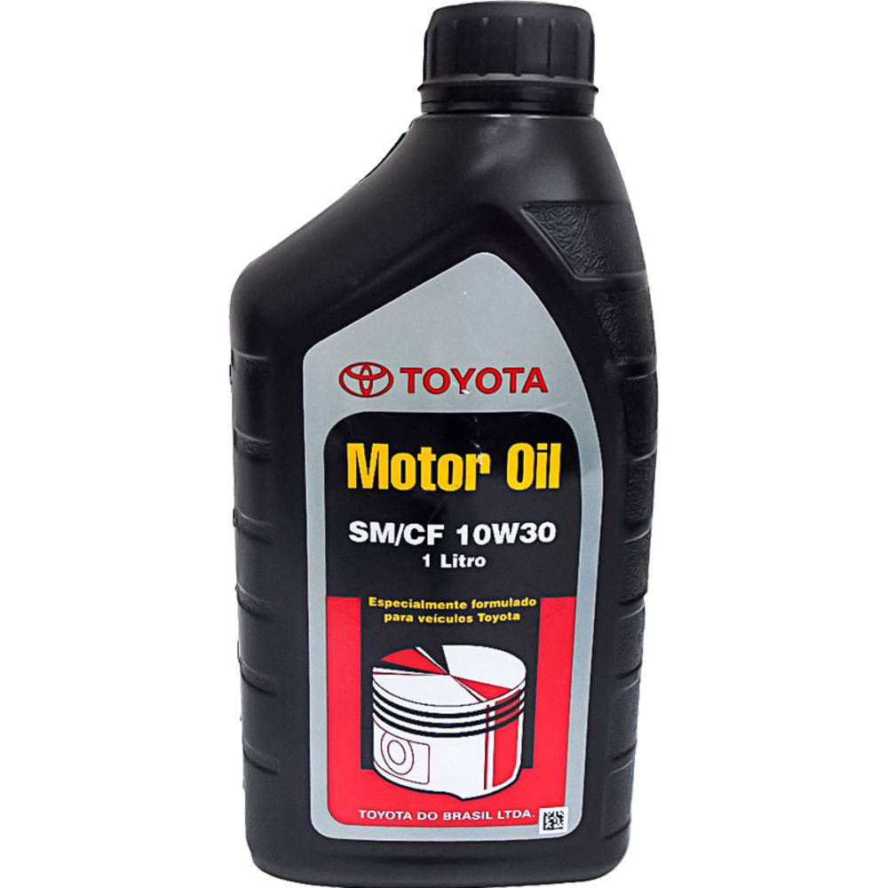Oleo De Motor 10w30 Toyota Mineral Api Sm Gasolina/Etanol/Diesel 1lt