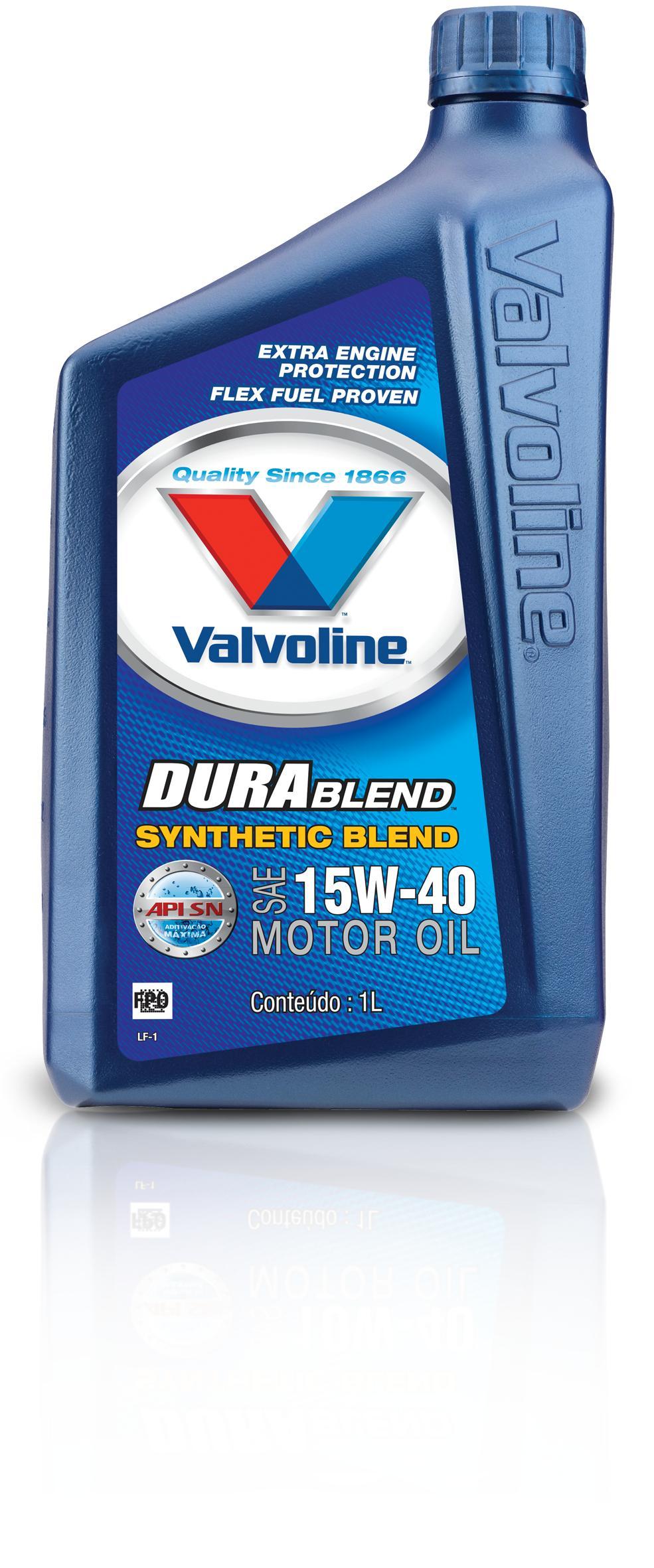 Óleo Valvoline 15w40 Dura Blend Semi-sintético