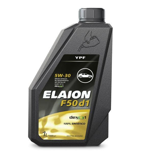 Oleo De Motor 5w30 Elaion F50 D1 Api Sn Sintético 1Lt
