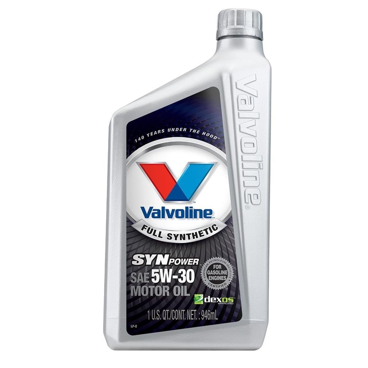 Óleo Motor Valvoline 5w30 Synpower Sintetico 1l
