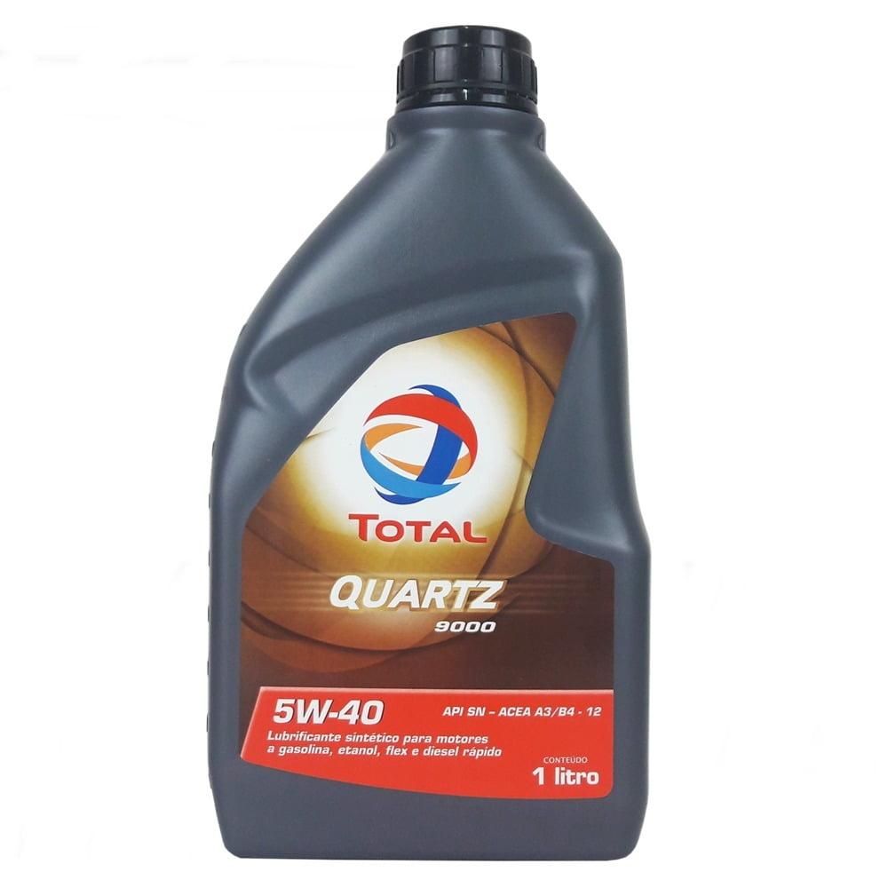 Óleo De Motor Total Quartz 9000 5w40 Sintético 1lt