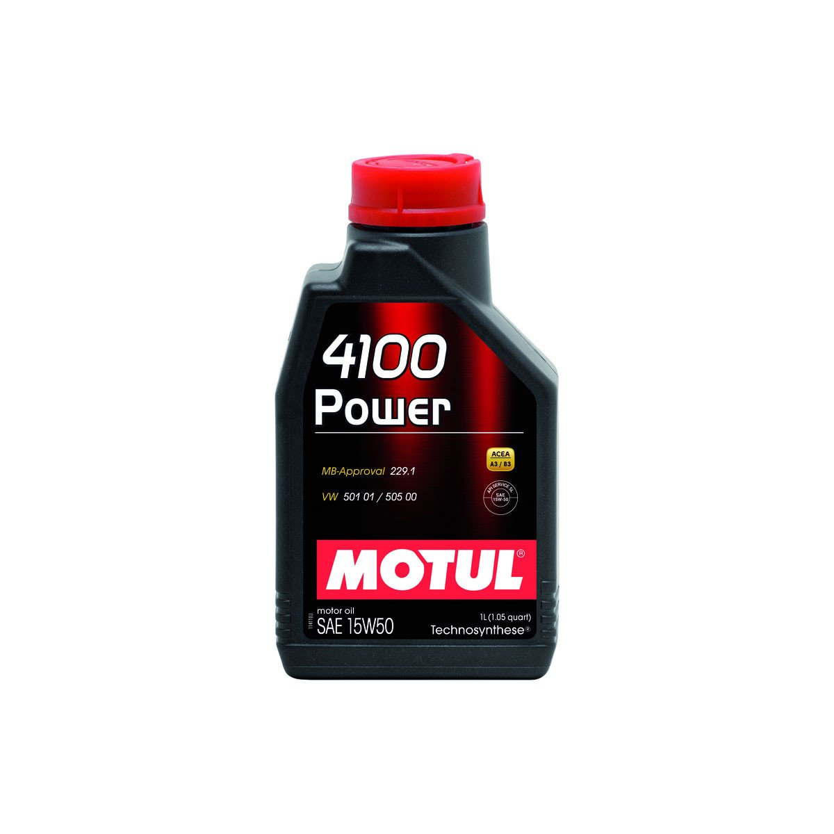 Oleo de Motor Motul Power 15w50 Semissintético 1lt