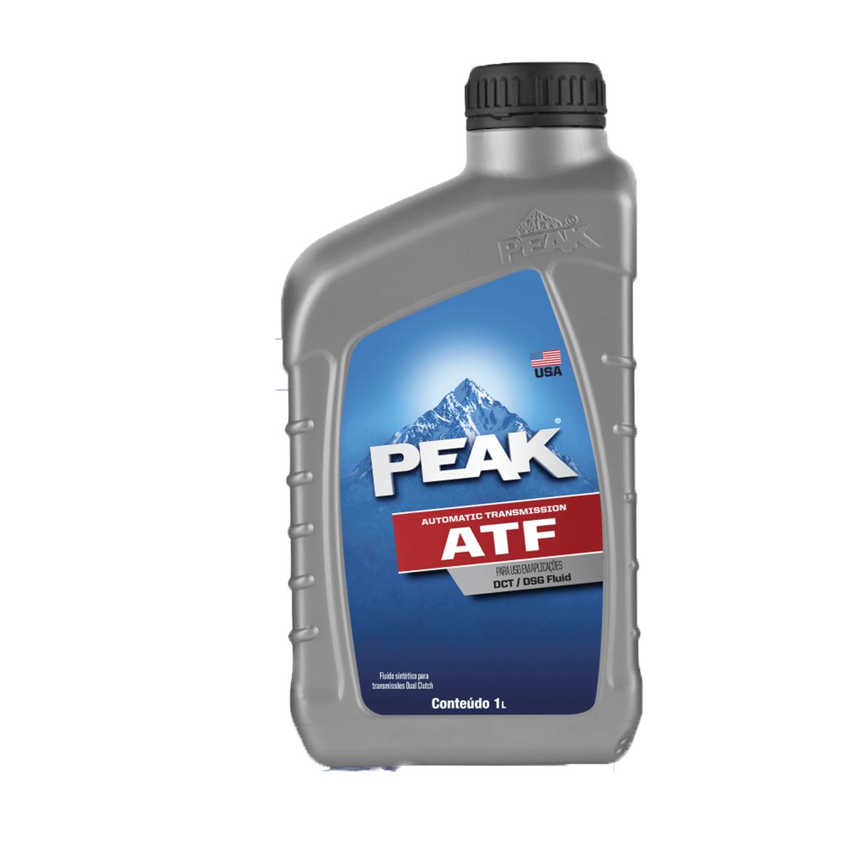 Oleo Cambio Peak ATF DCT DSG Dupla embreagem 1lt  em até 6x sem juros