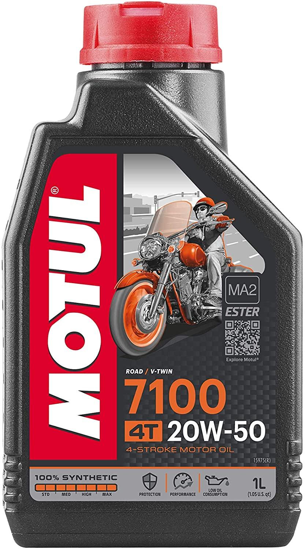 Motul 7100 20w50 Moto 4t Óleo Motor Sintético 1lt