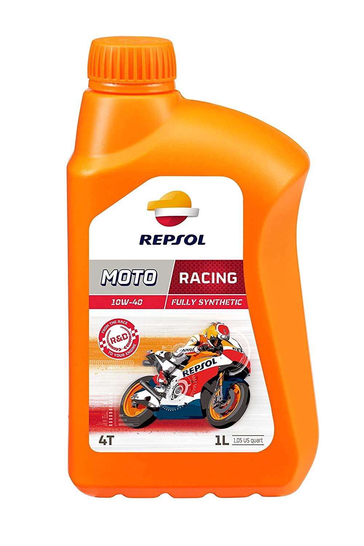 Oleo Moto Repsol RP Racing 10w40 4T Sintético 1lt em até 6x sem juros