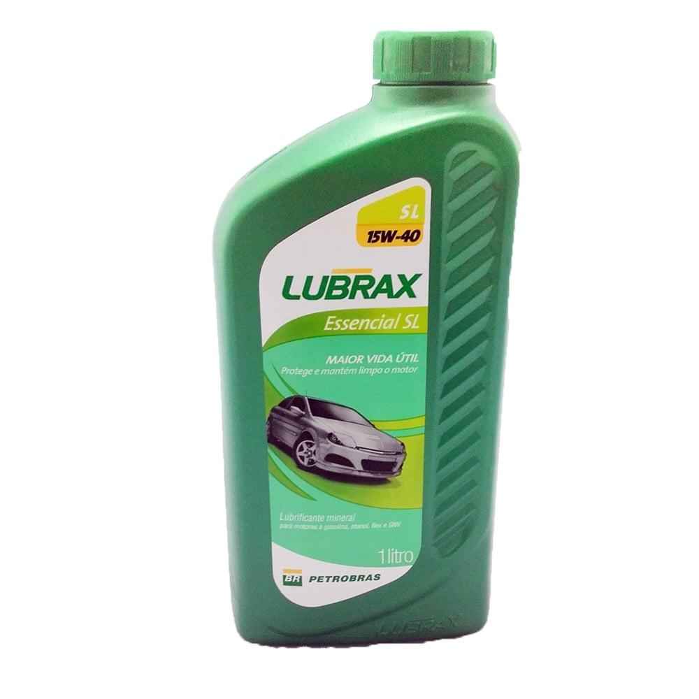 Oleo De Motor 15w40 Lubrax Essencial Mineral API SL 1lt em até 6x sem juros