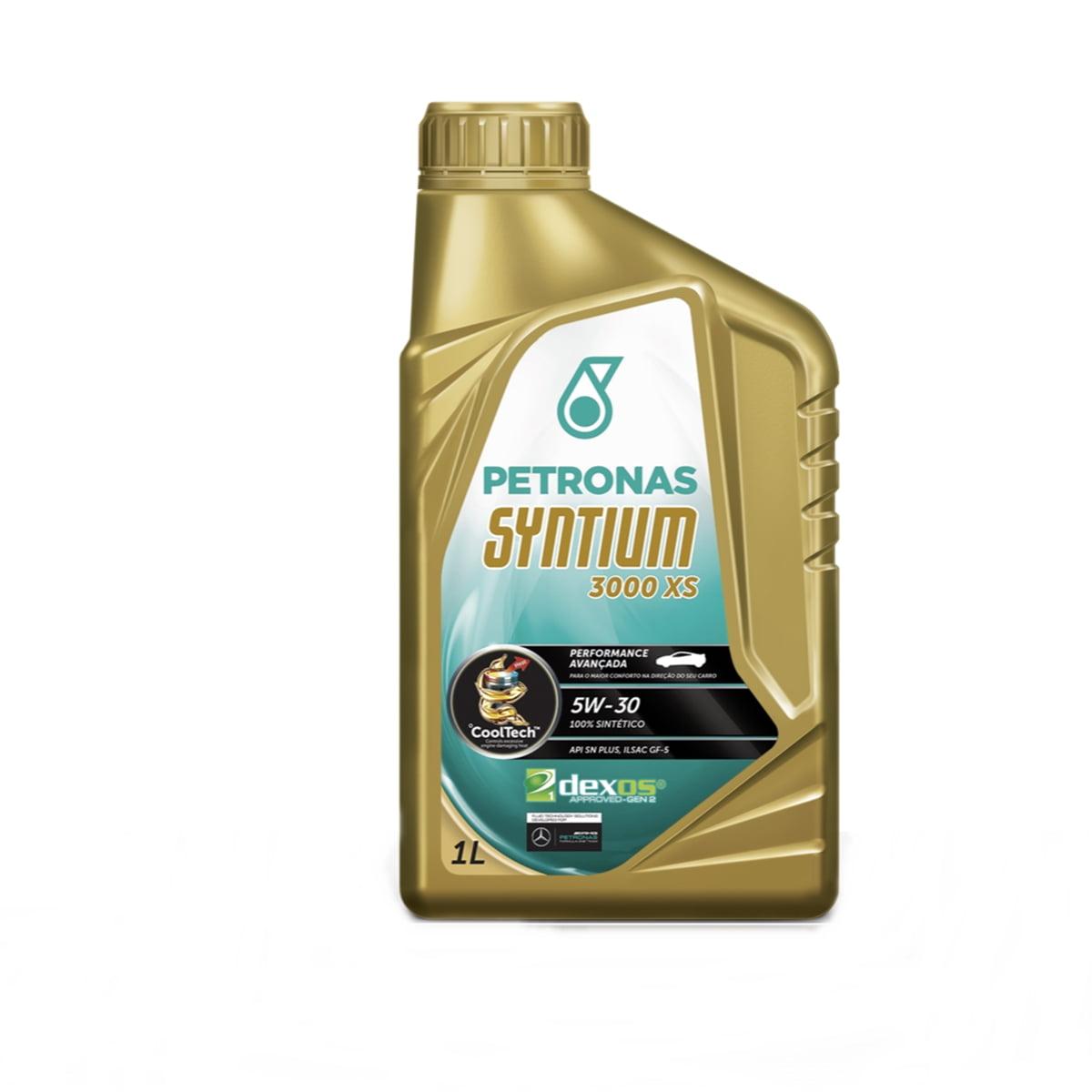 Oleo De Motor 5w30 Petronas Syntium 3000 Xs Sintético 1lt
