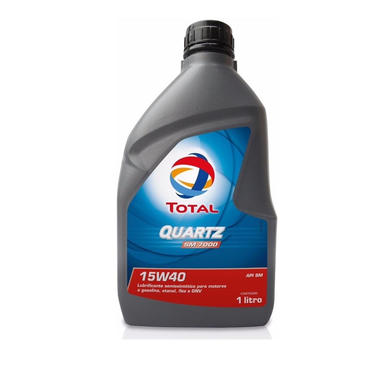 Oleo Total Quartz 7000 15w40 Semisintético 1lt