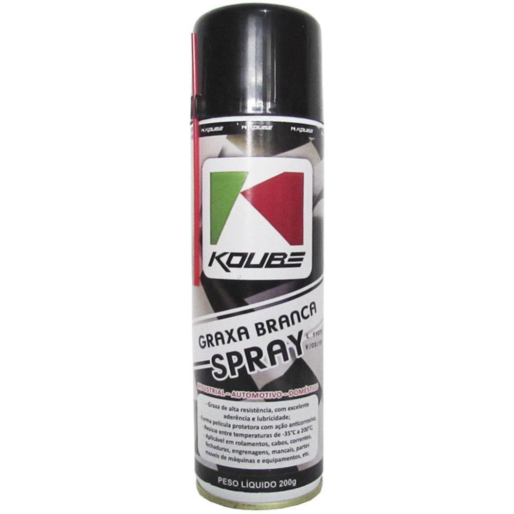 Graxa Branca Koube Spray 200 Ml
