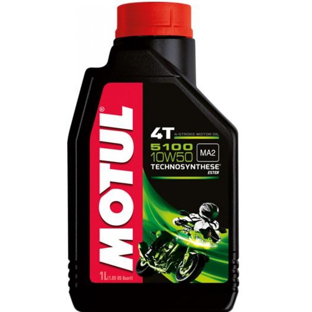 Oleo De Moto Motul 5100 10w50 4t Api SL Semi Sintético 1L