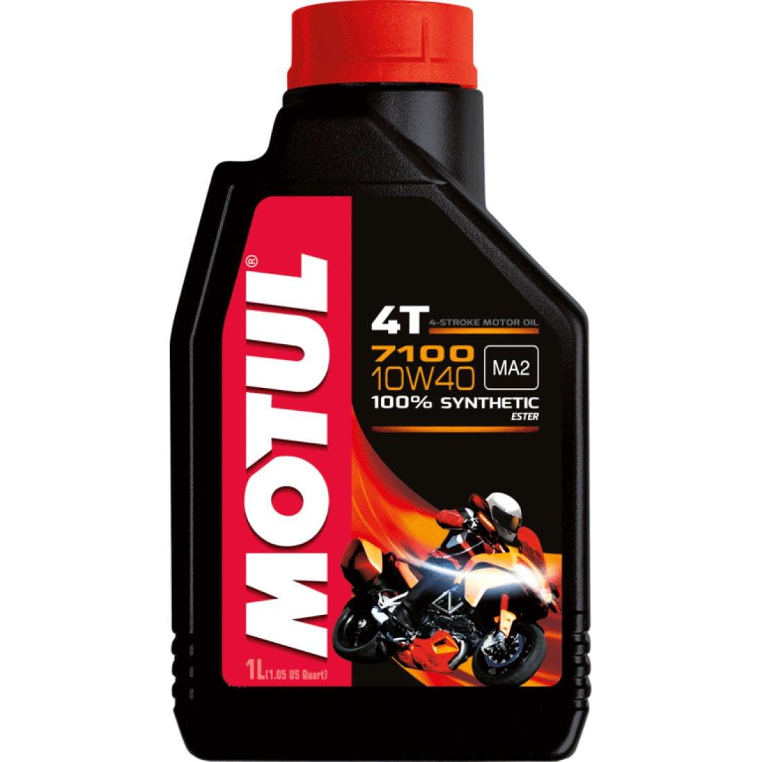 Oleo De Moto Motul 7100 10w40 Api SL 4T Sintético 1Lt