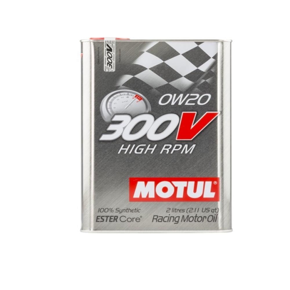 Oleo De Motor 0w20 Motul 300v High RPM Sintético 2lt