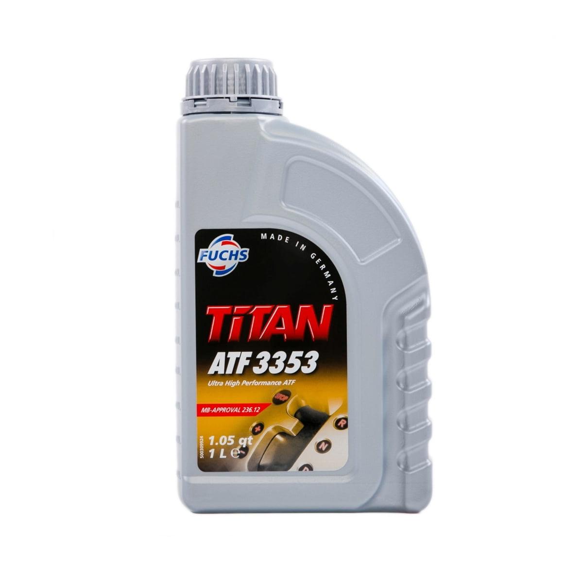 Oleo De Cambio Automático Fuchs Titan Atf 3353 Sintético 1Lt em até 6x sem juros