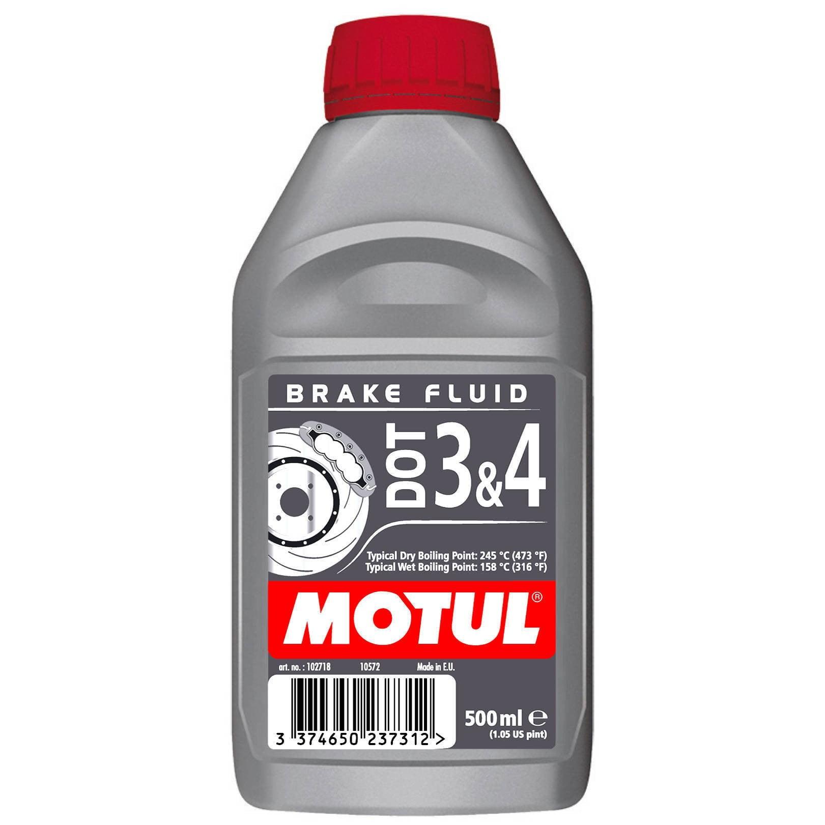 Fluido de Freio Motul Dot 3 & 4 Brake Fluid 500Ml