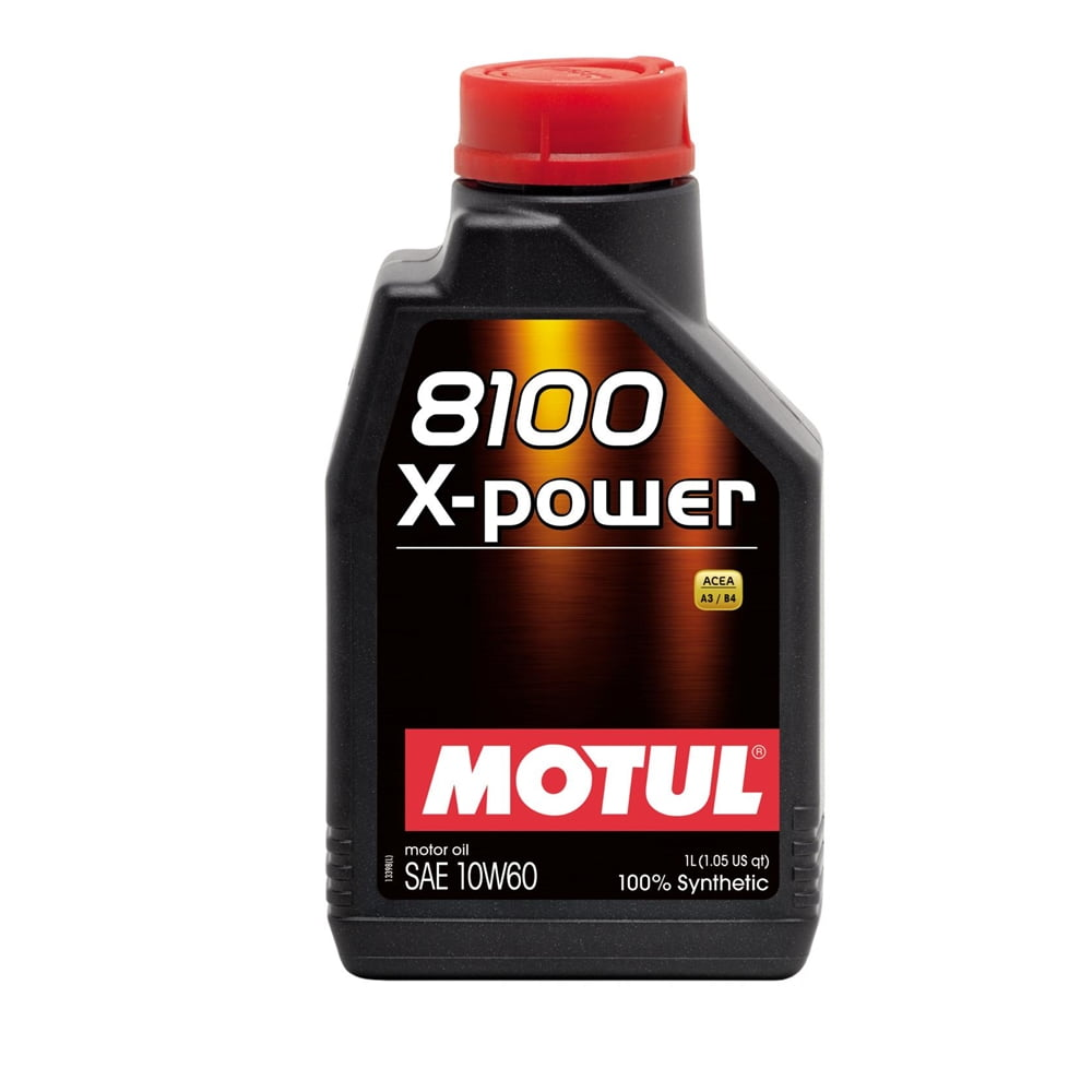 Oleo de Motor Motul 8100 X-Power 10w60 Sintético 1lt Bmw Serie M em até 6x sem juros