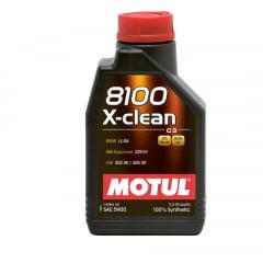 Oleo De Motor 5W30 Motul 8100 X-clean C3 Sintético 1lt