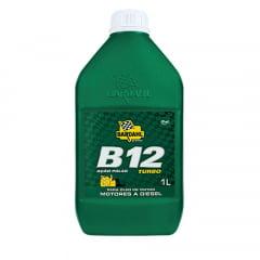Aditivo Para Oleo de Motor a Diesel Bardahl B12 Turbo 1lt