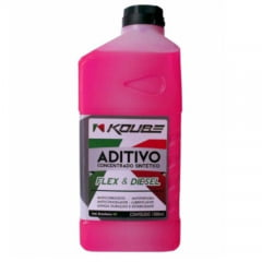 Aditivo Radiador Koube Concentrado Sintético Flex E Diesel 1Lt