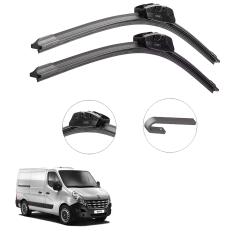 Palheta Bosch Limpador Parabrisa Renault Master 2014...