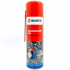 Limpeza Automotiva Descarbonizante Limpa Tbi E Carburador Wurth 300ML