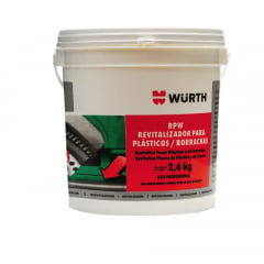 Limpeza Automotiva Revitalizador De Plásticos E Borrachas Rpw Wurth 2,6Kg em até 6x sem juros