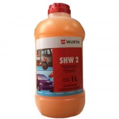 Limpeza Automotiva Shampoo Detergente Com Cera Shw 2  Wurth 1 Litro