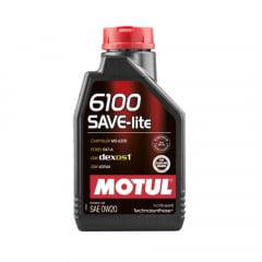 Oleo De Motor 0w20 Motul 6100 Save-lite Api Sn Dexos 1 1lt