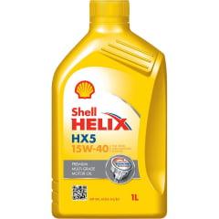 Óleo De Motor 15w40 Shell Helix Hx5 API SN A3/B3 1lt