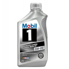 Oleo De Motor 5w20 Mobil 1 Api Sn A1/B1 Gf-5 Sintético 1Lt