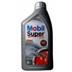 Oleo De Motor 5w40 Mobil Super 3000 X3 Sintético 508.88 Api Sn 1lt