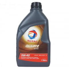 Óleo De Motor 5w40 Total Quartz 9000 Sintético 1lt