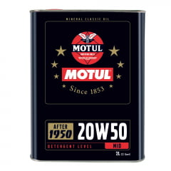 Oleo de Motor Motul 20w50 Posterior a 1950 2L