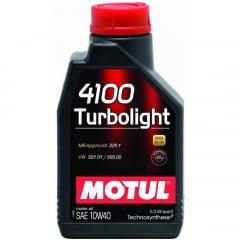 Oleo Motul 4100 10w40 Turbolight Oleo de Motor Semi-sintético 1Lt