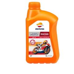 Oleo Repsol Moto Racing 5w40 4T Sintético 1lt