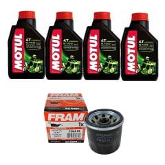 Troca Óleo Motul 5100 15w50 4l + Filtro Ph 6018 Moto