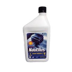 Oleo Para Motor 2T Shell Nautilus Premium OutBoard 946Ml