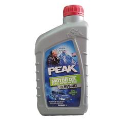 Oleo de Motor 5w40 Peak Sintético Api SN Vw 502 1lt em até 6x sem juros