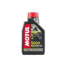 Óleo Motul 5000 20w50 Semissintético 4t 1lt